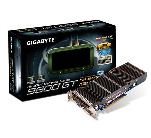 GIGABYTE Launches GV-N98TSL-1GI Graphics Accelerator with Silent-Cell Cooling
