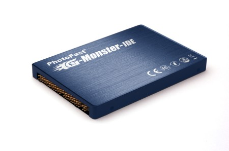 PhotoFast G-Monster IDE product News release (Read 90MB/s, Write 70MB/s)