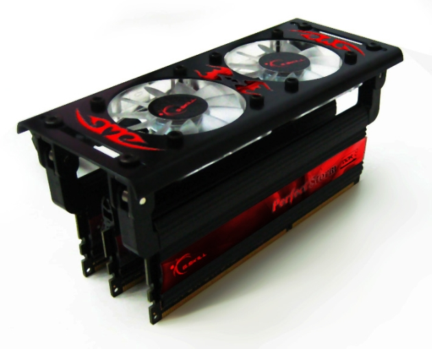 G.SKILL launches the world's fastest memory, Perfect Storm DDR3 2133 CL9 6GB and Turbulence Fan