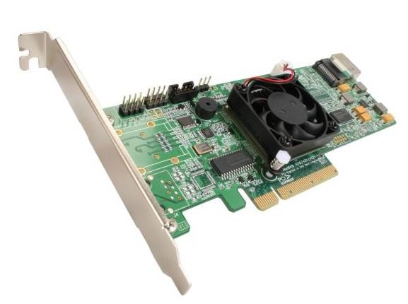 Industry 1st Intel IOP348 - 4 ports SAS RAID Controller -RocketRAID 4310  At $229 Unit Price