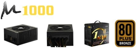 Hiper launches new PSU: M1000 80PLUS Bronze certified!