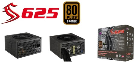 Hiper launches first model of new PSU series: S625 80PLUS Bronze certified!