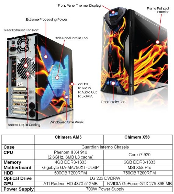 iBUYPOWER Launches Chimera Gaming System