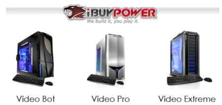 iBUYPOWER launches Video PC Line and YouTube Contest