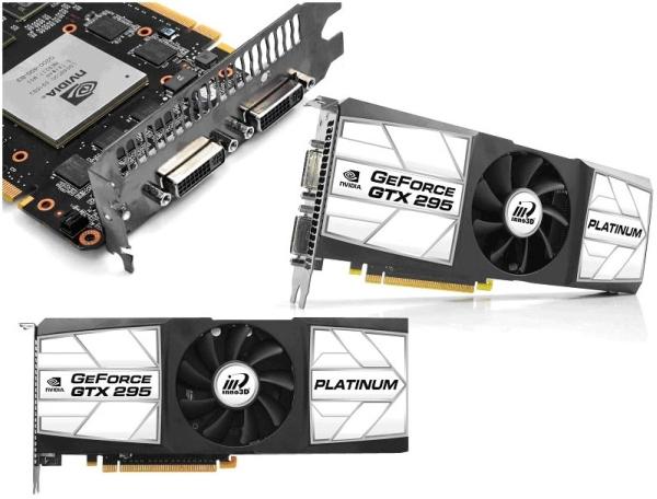 Inno3D Announces GeForce GTX 295 Platinum Edition