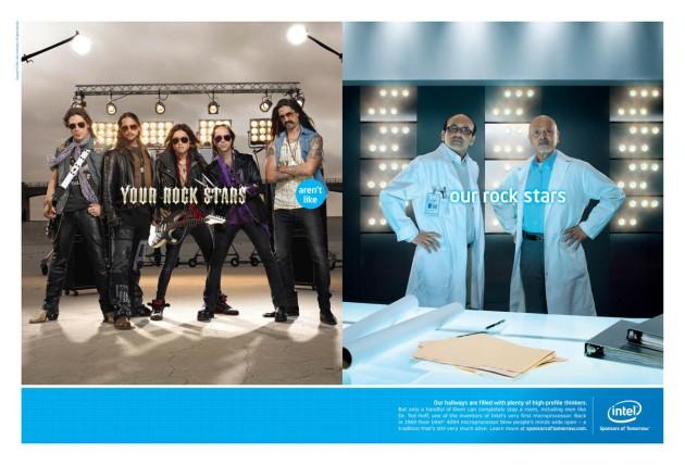 Intel: 'Sponsors of Tomorrow'