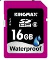 KINGMAX unveils the world highest capacity waterproof SD card with 16GB