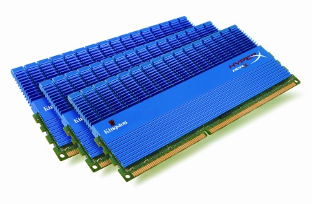 Kingston Technology Boosts Speed, Capacity on 2GHz HyperX DDR3 Triple Channel Memory for Core i7 Systems