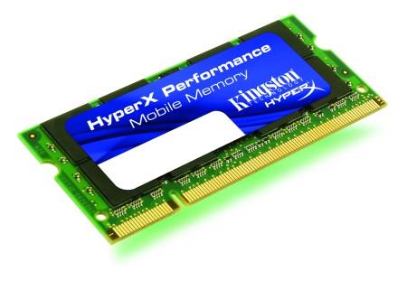 Kingston Technology Releases HyperX SO-DIMMS for Netbooks