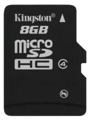Kingston Technology Adds 8GB microSDHC Cards to Growing Mobile Phone Memory Family