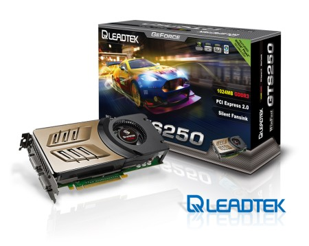 Leadtek Launches WinFast GTS 250