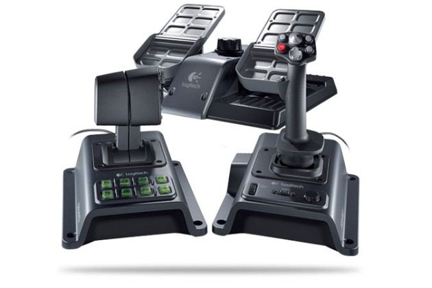 Logitech Pleases Flight Sim Enthusiasts with Flight System G940