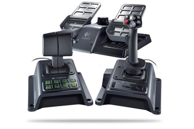 Logitech Pleases Flight Sim Enthusiasts with Flight System G940