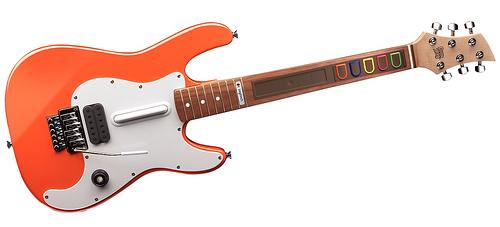 Logitech Announces Wireless Guitar Controller for Xbox 360