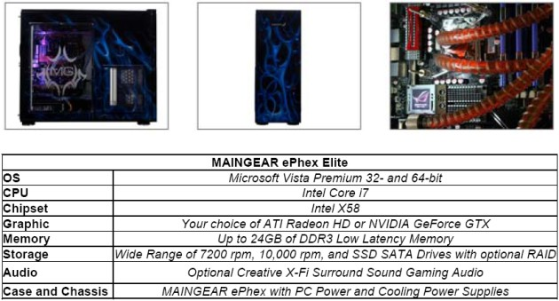 MAINGEAR Unleashes the ePhex Elite Premium Gaming PC