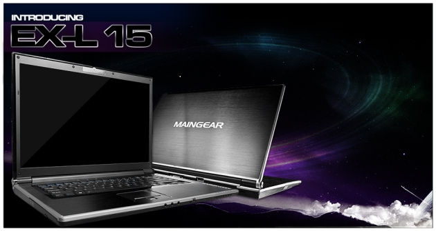 MAINGEAR Debuts eX-L 15 Gaming Notebook