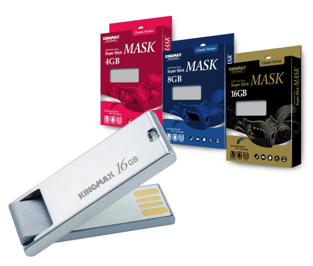 KINGMAX unveils new COB type USB Flash Drive - Super Stick MASK