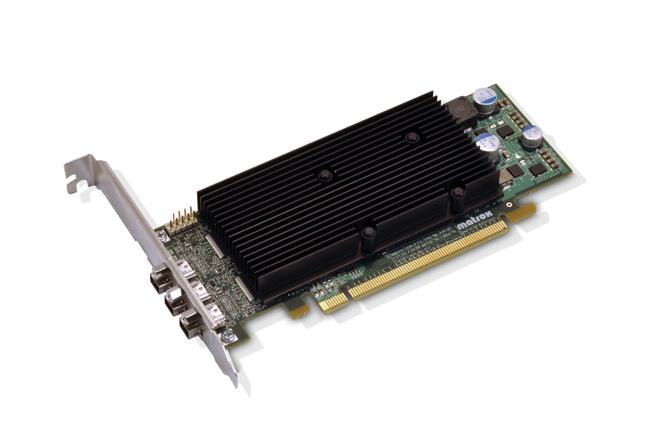 Matrox Graphics Unveils Triple and Quad Monitor DisplayPort M-Series Graphics Cards