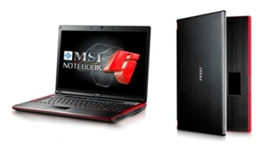 MSI Announces GT725 - World's First Gaming Notebook to Feature ATi Radeon HD4850 and Deliver Desktop Gaming Performance with a Single GPU