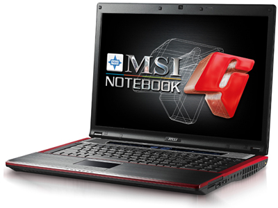 MSI Launches the GX723 Gaming Notebook