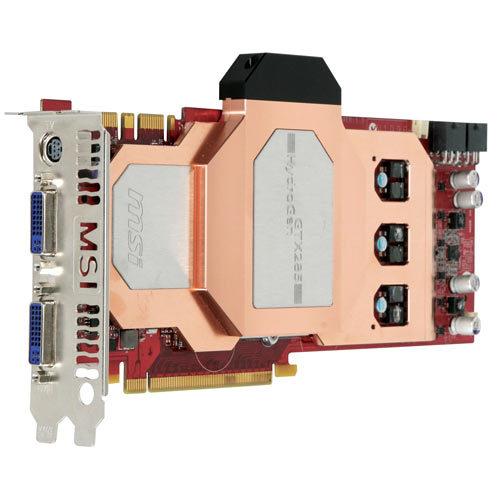 MSI Unveils N285GTX HydroGen Graphics Card
