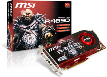 MSI Launches R4890-T2D1G Graphics Card with Ultra-High Bandwidth