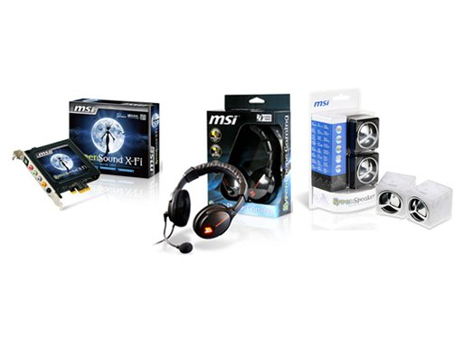 MSI Announces Syren Series PC Audio Products