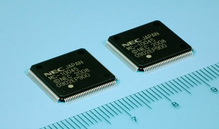 NEC Electronics Introduces Compact SoC That Supports 24x DVD writing Speeds