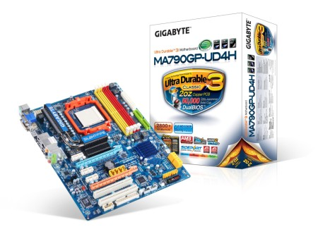 GIGABYTE Introduces Latest AMD Ultra Durable 3 Classic Motherboard Technology