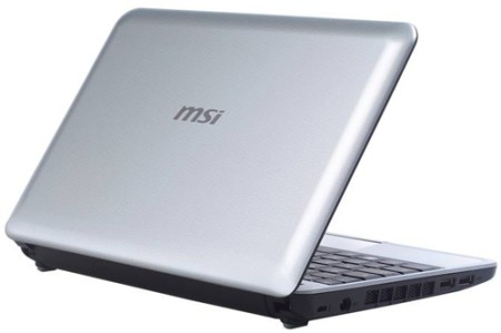 The World's First Hybrid Storage Netbook- MSI U115 Hybrid