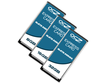 OCZ Technology Introduces Slate Series ExpressCards for Notebooks