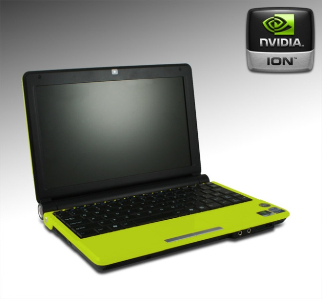 Point of View Releases its First NVIDIA ION Netbook