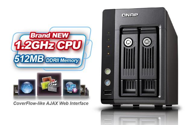 QNAP Announces 2.5-inch and 3.5-inch SATA HDD TS-219P Turbo NAS