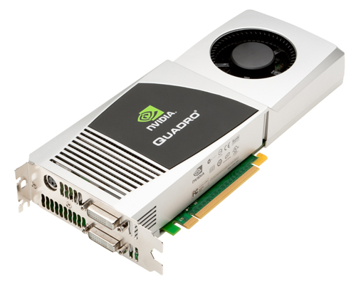NVIDIA Brings Highly Acclaimed Quadro FX 4800 To MAC Market