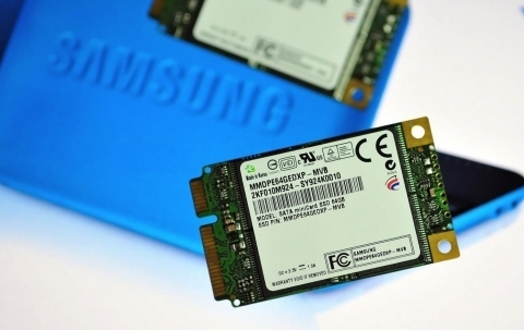 Samsung Develops Solid State Drive with SATA Mini-card Design for Netbooks