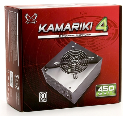 Scythe Kamariki 4 Power Supply - Silence and Efficiency Comes Together