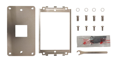 Scythe cooler with mounting kit for AMD Sockets: CPU Cooler Stabilizer K8/AM2 replaces standard mounting systems