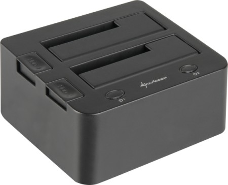 Sharkoon QuickPort hard drive access now for two SATA drives