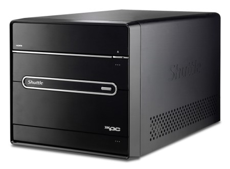 Shuttle Announces Complete Mini PC System With a DVB-S Tuner