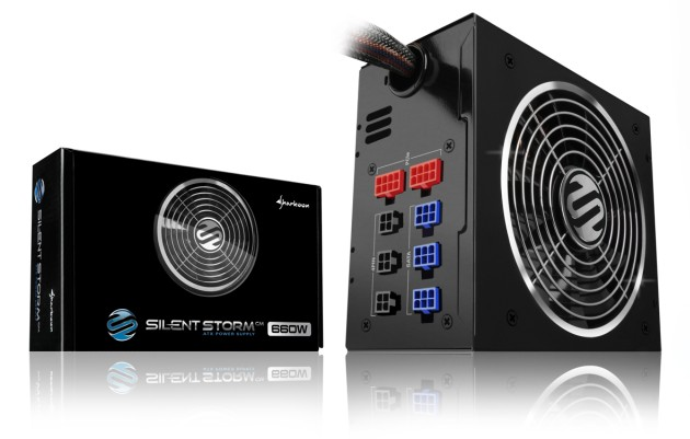 New SilentStorm series with flat modular cables