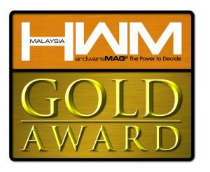 SILICON POWERTM eSATA/USB SSD wins HWM magazine's Gold Award