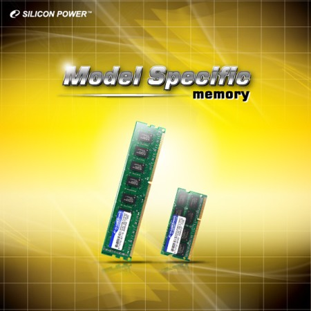 SILICON POWER™ Announces Major Brand Name - Model Specific Memory Module Series