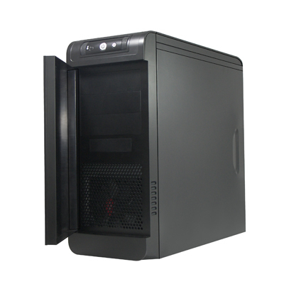 Spire Introduces SP7097B-V1 Case - Emerald Black Silence