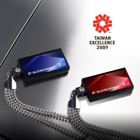 SILICON POWER Touch 810 won Taiwan Excellence Award