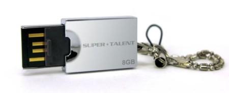 Super Talent Unveils Novel Sliding Lid Pico-E USB Drive