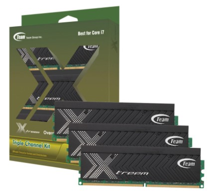 Team launches Triple Channel Xtreem DDR3 ahead of others