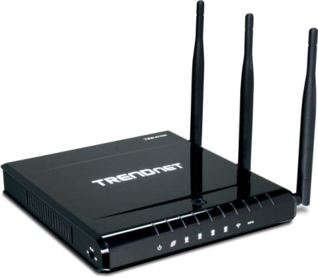 TRENDnet Demonstrates the Extreme Dual Band Wireless N Gigabit Router