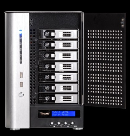 Thecus Unleashes N7700 7-Bay NAS Server
