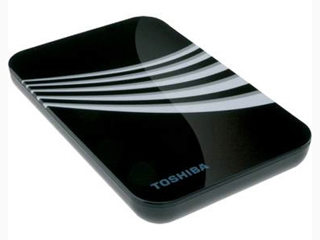 Toshiba Adds Half-Terabyte Portable External HDD to Personal Storage Line