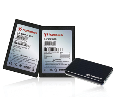 Transcend Presents a Full Line of Solid State Drives